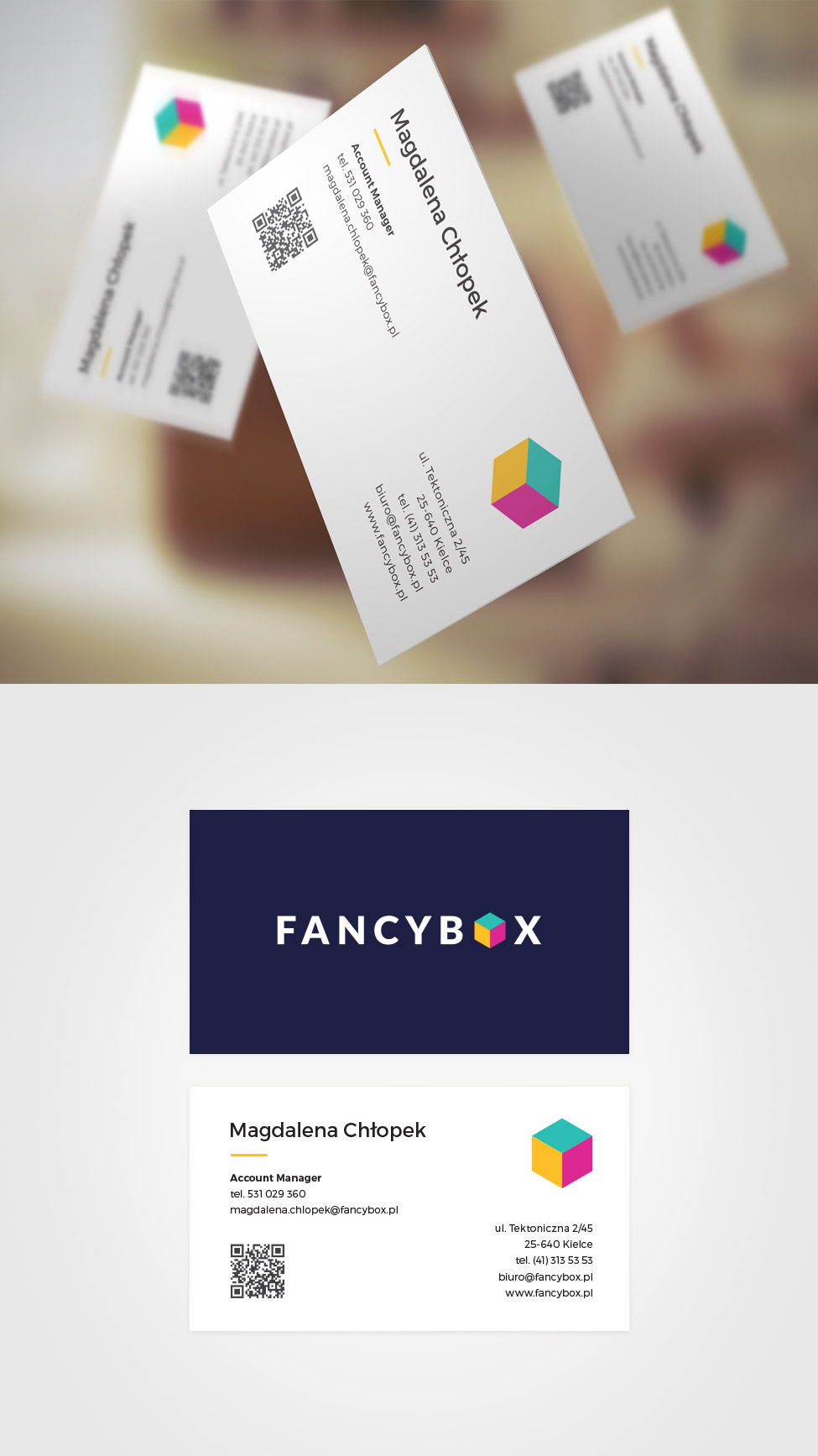 Business card fancybox.pl
